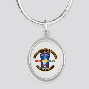 Army - 173rd Airborne Brigade w SVC Ribbons Silver