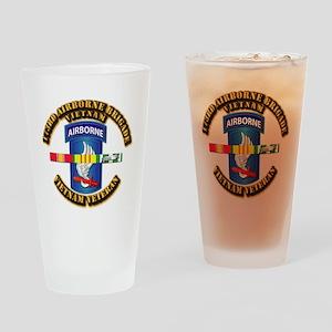Army - 173rd Airborne Brigade w SVC Ribbons Drinki