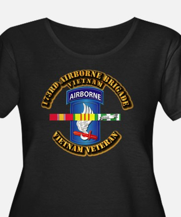 Army - 173rd Airborne Brigade w SVC Ribbons Women'