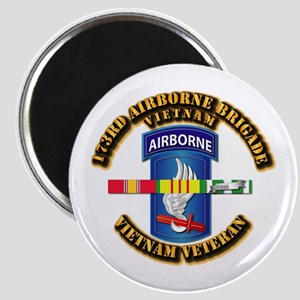 Army - 173rd Airborne Brigade w SVC Ribbons Magnet