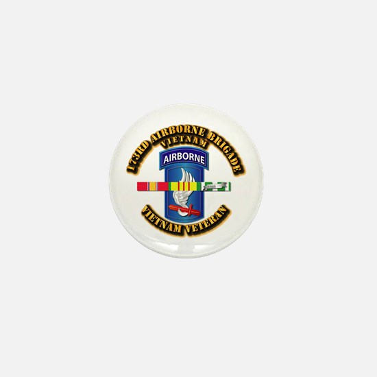 Army - 173rd Airborne Brigade w SVC Ribbons Mini B