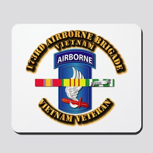 Army - 173rd Airborne Brigade w SVC Ribbons Mousep