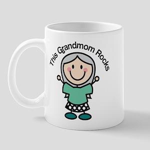 Grandmom Rocks Mug