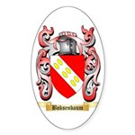 Boksenbaum Sticker (Oval)