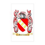 Boksbaum Sticker (Rectangle)