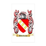 Boksbaum Sticker (Rectangle 50 pk)