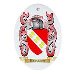 Boksbaum Ornament (Oval)