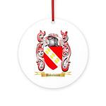 Boksbaum Ornament (Round)