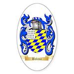 Bokma Sticker (Oval 50 pk)