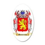 Boissereau 35x21 Oval Wall Decal