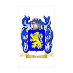 Boisin Sticker (Rectangle 50 pk)