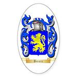 Boisin Sticker (Oval 50 pk)