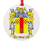 Boig Round Ornament