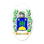 Boieiro Oval Car Magnet