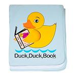 Duck baby blanket