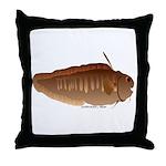 Eel Cod fish Throw Pillow