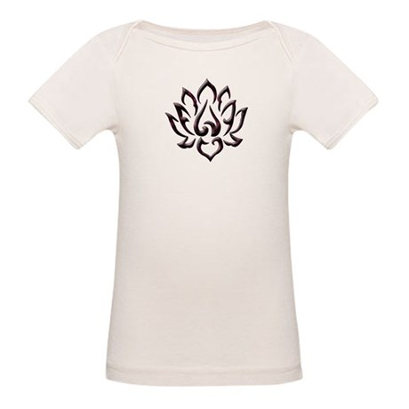 Lotus Flower Organic Baby T-Shirt