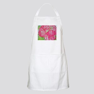 Hibiscus in Lilly Pulitzer Apron
