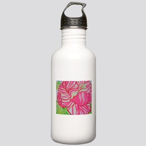 Hibiscus in Lilly Pulitzer Water Bottle