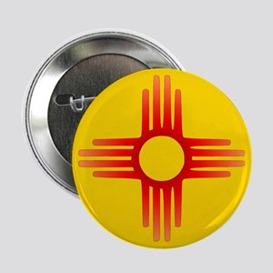 "Zia Sun Symbol 2.25"" Button"
