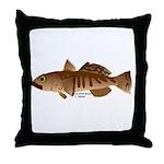 Toothfish (Sea Bass) fish (Annas Antarctica) Throw