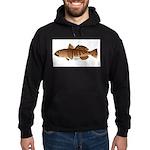 Toothfish (Sea Bass) fish (Annas Antarctica) Hoodi