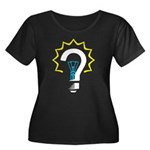 Question Bulb Plus Size T-Shirt
