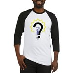 Question Bulb Baseball Jersey