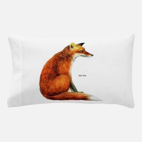 Red Fox Animal Pillow Case