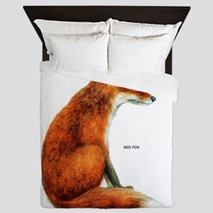 Red Fox Animal Queen Duvet