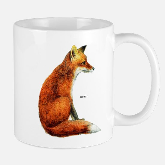 Red Fox Animal Mug