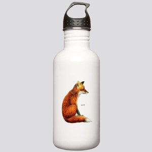 Red Fox Animal Stainless Water Bottle 1.0L