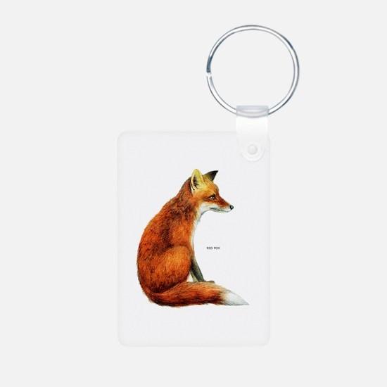 Red Fox Animal Keychains