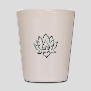 Lotus Flower Shot Glass