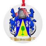 Bohr Round Ornament