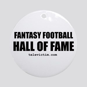 """HALL OF FAME"" Ornament (Round)"