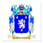 Bohlmann Square Car Magnet 3