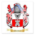 Bohlken Square Car Magnet 3
