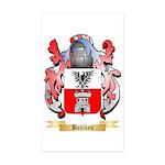 Bohlken Sticker (Rectangle 50 pk)