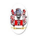Bohlken 20x12 Oval Wall Decal