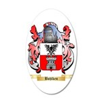Bohlken 35x21 Oval Wall Decal