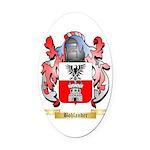 Bohlander Oval Car Magnet