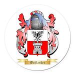 Bohlander Round Car Magnet