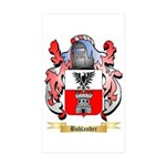Bohlander Sticker (Rectangle 50 pk)