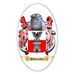 Bohlander Sticker (Oval 50 pk)
