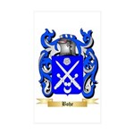 Bohe Sticker (Rectangle 50 pk)