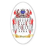 Bogue Sticker (Oval 50 pk)