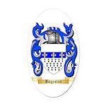 Bogosian Oval Car Magnet