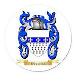 Bogosian Round Car Magnet
