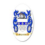 Bogosian 35x21 Oval Wall Decal